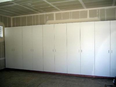 Building Garage Cabinets